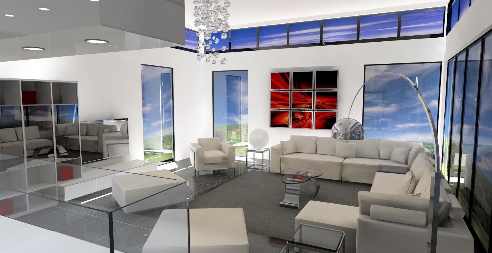 am nagement d 39 une maison d 39 architecte chepy 51. Black Bedroom Furniture Sets. Home Design Ideas