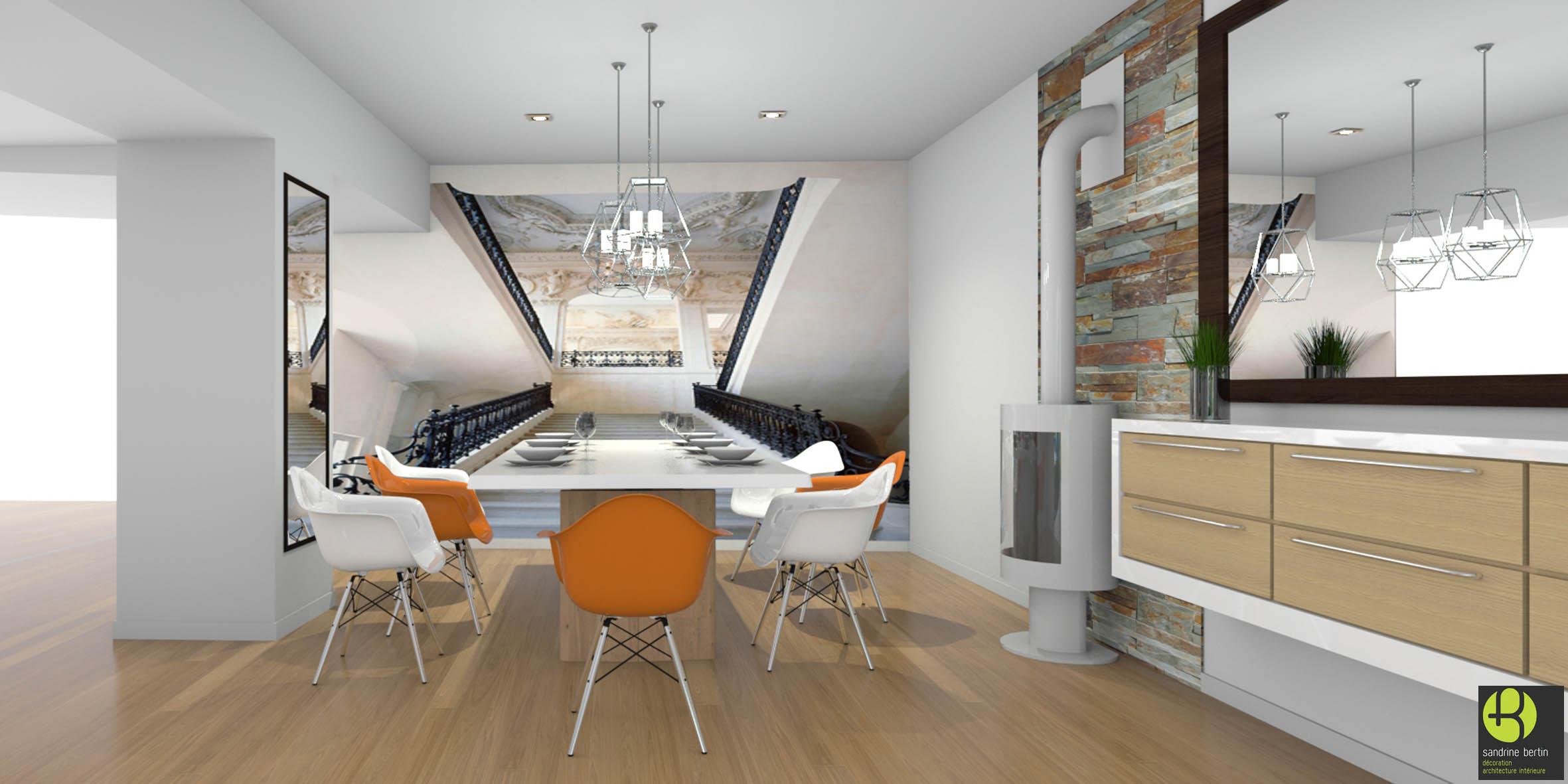salon classique chic sandrine bertin. Black Bedroom Furniture Sets. Home Design Ideas