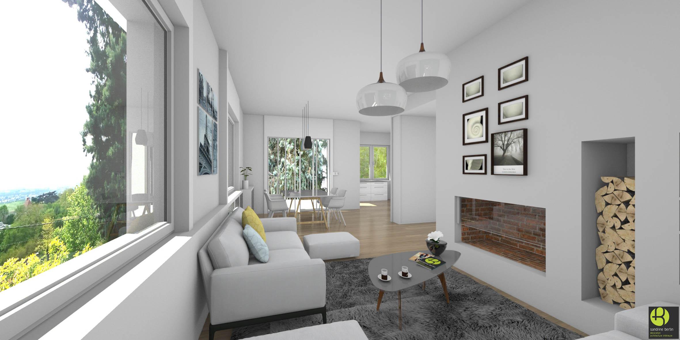 rendu 3d home staging sandrine bertin. Black Bedroom Furniture Sets. Home Design Ideas